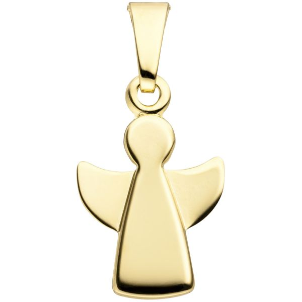 Schutzangelanhänger 333 Gold