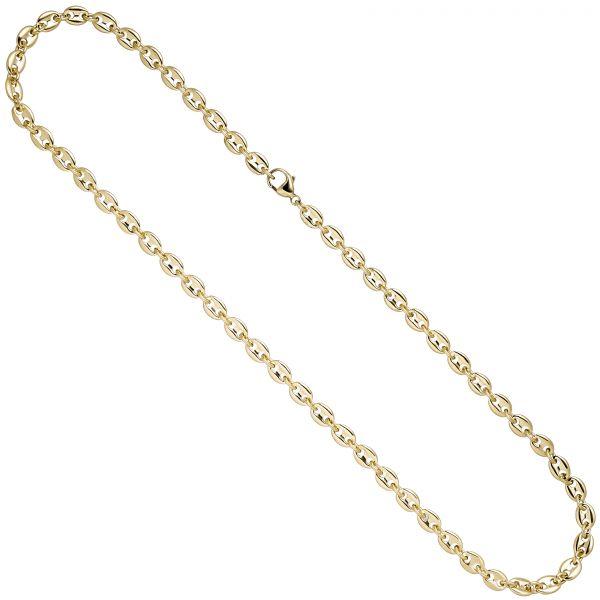 Halskette Kaffeebohnen 585 Gold 50cm