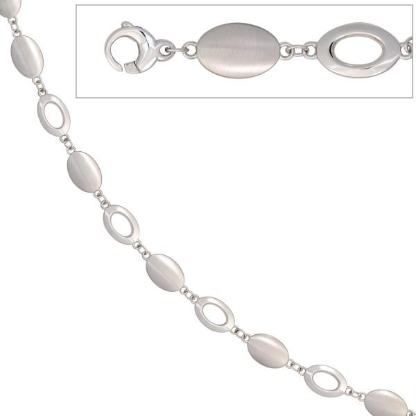 Armband 585 Gold mattiert 19cm