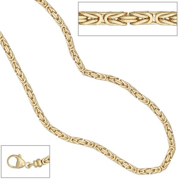 Königskette 585 Gold 3,2mm 42cm