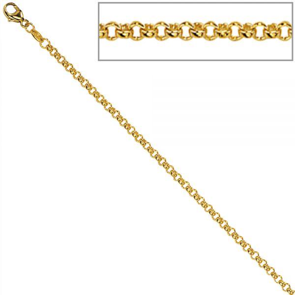 Erbskette 333 Gold 2,5mm 50cm