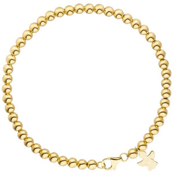Armband Schutzengel 585 Gold 19cm